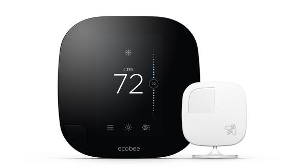 The Ecobee3 is Alexa-compatible and controllable from just about any device.