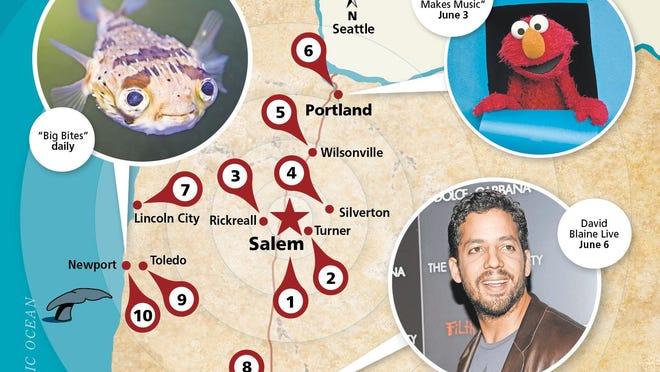 From a studio tour in Silverton to Paula Abdul in Portland and David Blaine in Eugene, here's what's going on this weekend.