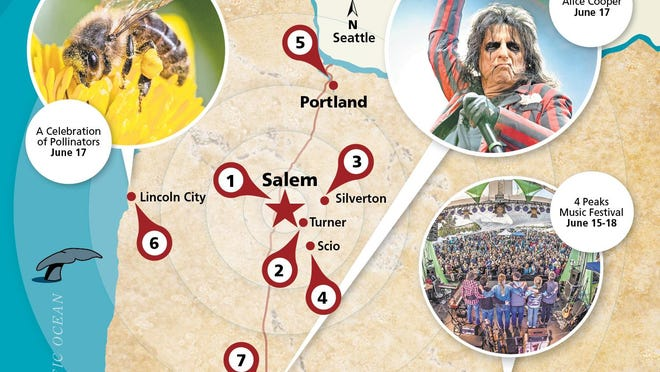 From Brewfest in Silverton to Alice Cooper in Eugene, here's what's worth driving to this weekend.
