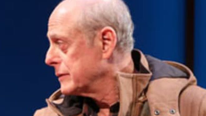 """Actor Mark Blum, who died in late March from COVID-19, shown in the 2018 production of """"Amy and the Orphans"""" at the Roundabout Theatre Company in New York City. Blum had been scheduled to act in the opening show for this summer's season at White Heron Theatre Company on Nantucket."""