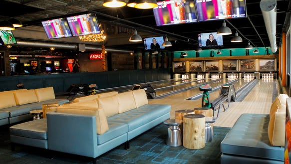 Punch Bowl Social's 16 TVs will broadcast the Red Wings
