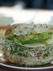 Tuckaway Cafe offers bagel sandwiches on Fort Myers