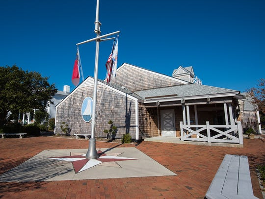 The North Carolina Maritime Museum in Beaufort, N.C.,