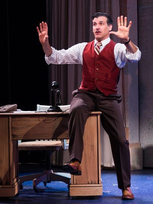 """Joey Sorge stars in """"When You Wish: The Story of Walt Disney,"""" a world-premiere musical at Phoenix Theatre."""