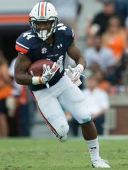 Auburn running back Cameron Artis-Payne has converted 10 of 13 third downs.