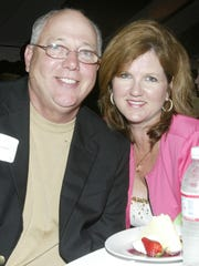 Judge Ray Grimes and Sharon Massey Grimes at Flying