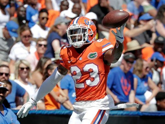 Florida defensive back Chauncey Gardner-Johnson of