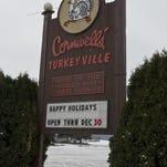 1223_MURDER_01...Exterior shot of Cornwell's Turkeyville.