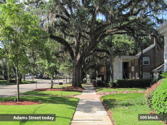 City of Tallahassee staff report shows Governors Walk going right past home on Adams Street that Commissioner Scott Maddox claims as his legal residence.