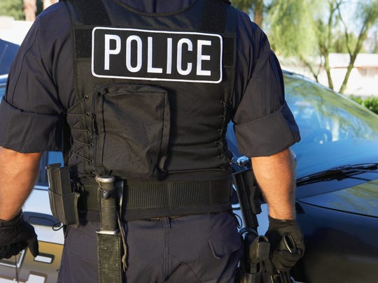 A stock image of a police officer.