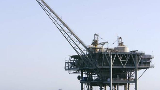 ap file photo  An offshore drilling rig is shown off the coast of California.
