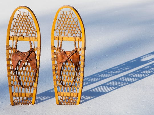 Snowshoe through the Monk Botanical Gardens this weekend.