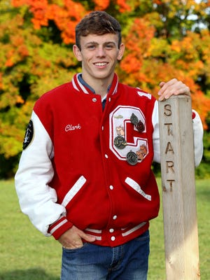 Throughout his cross country career with the Canton Chiefs, Zac Clark has lettered in excellence.