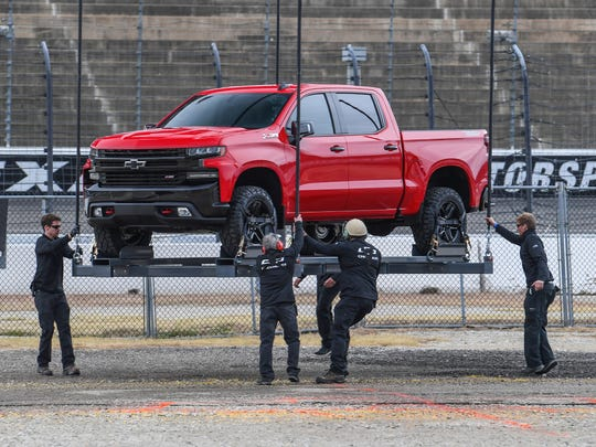 The 2019 Chevrolet Silverado was revealed when it was