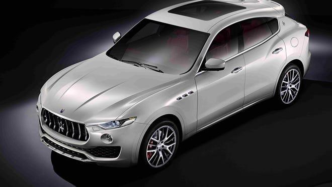 Maserati will offer a super-premium SUV called Levante