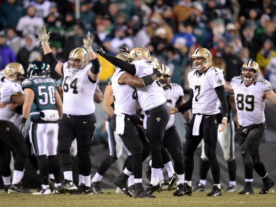 wild card saints eagles