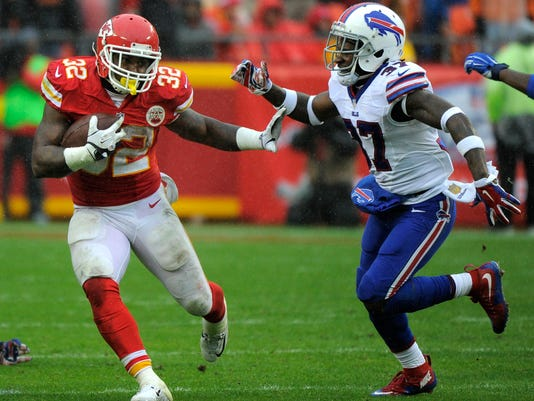 Spencer Ware, Nickell Robey