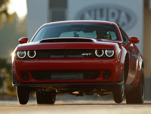 2018 dodge new models. simple new dodge challenger srt demon is so powerful it can lift inside 2018 dodge new models