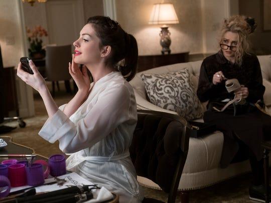 Anne Hathaway (left) and Helena Bonham Carter star