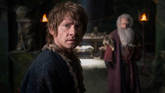 """The Hobbit: The Battle of the Five Armies,"" with Martin Freeman, was No. 1 at the weekend box office."