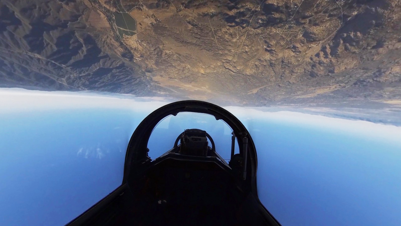 VR: Be a fighter pilot and go screaming across Southern California