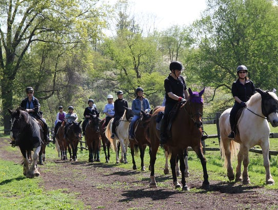 Fall English-style riding lessons are available at