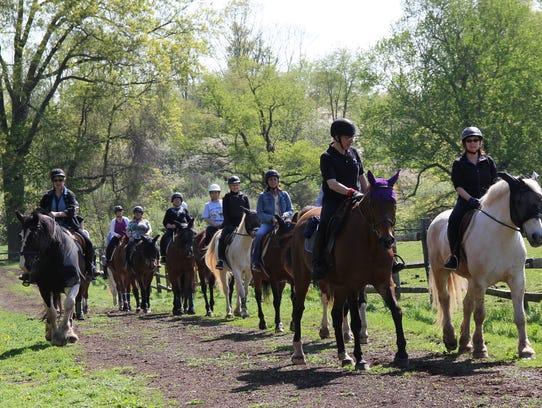 Fall horseback riding lessons kick off Sept. 3 and