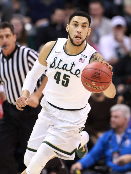 NCAA Basketball: Big Ten Conference Tournament-Maryland vs Michigan State