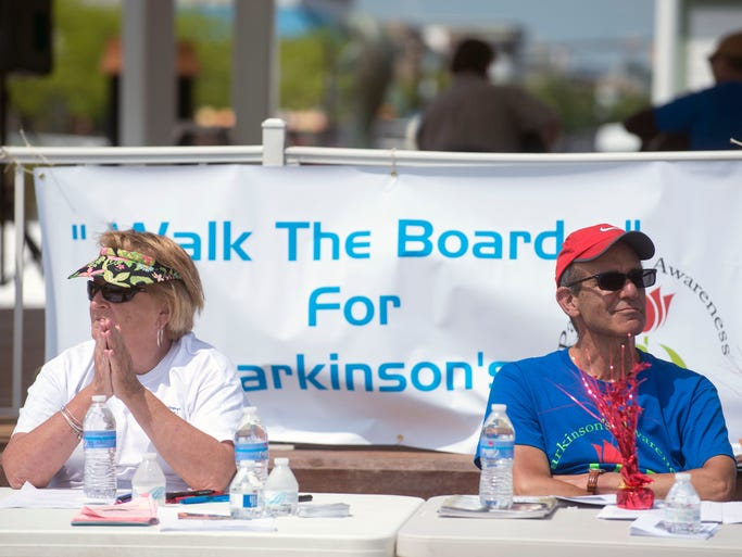 """The Parkinson's Awareness """"Walk the Boards for Parkinson's"""" took place on the Rehoboth Boardwalk Saturday, May 17."""