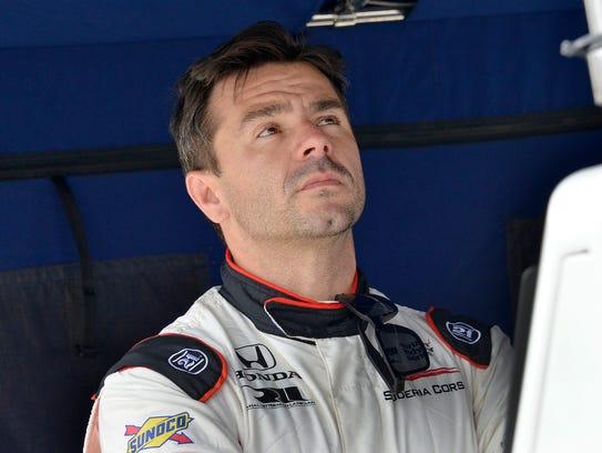Team Scuderia Corsa IndyCar driver Oriol Servia (64)