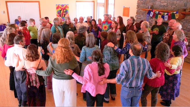 A spring celebration featuring Dances of Universal Peace will be held at 3:30 p.m. Wednesday at the Church of Harmony in Silver City.
