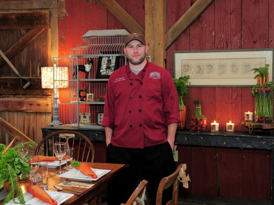 Executive Chef Scott Reddy enjoys planning the dinner for the farm-to-fork event at Johnson's Corner Farm. 'The flavors from a fresh-picked crop can't be compared,' says Reddy. 'It's exciting to work with such fresh ingredients.'