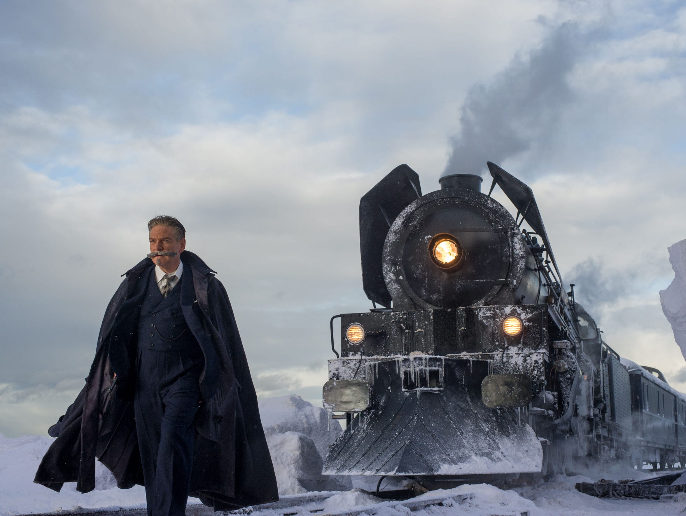 "Kenneth Branagh stars in  ""Murder on the Orient Express."""