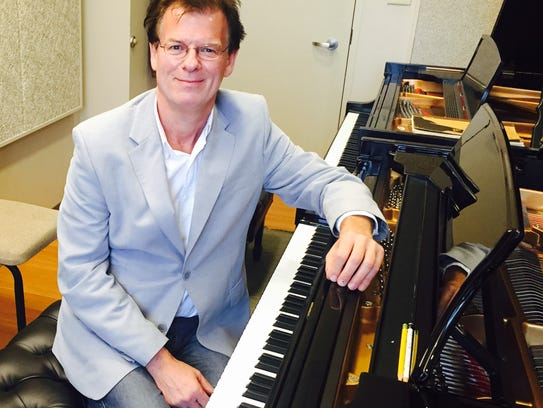 Doctor Robert Palmer, professor of piano at Ball State,