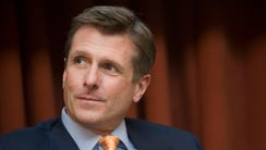 A file photo of Warriors president Rick Welts from