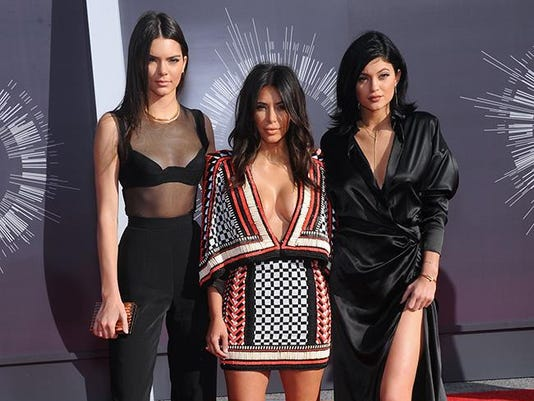 Kim, Kendall and Kylie