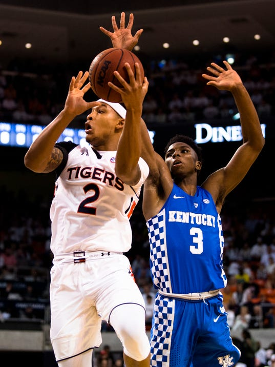 Men's Basketball: Auburn vs. Kentucky
