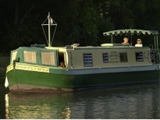 Home Tour attendees may use their ticket to board The Sunflower, an English narrow canal boat, for a walk-through tour.