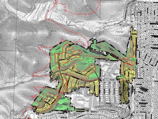 Sierra Del Puerte site plan