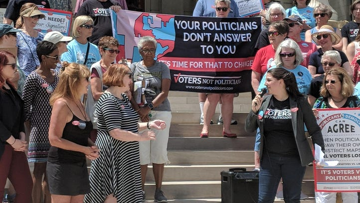 Redistricting group has signatures, still fighting to make ballot