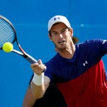 Andy Murray out on day of first-round shocks at Queen's Club