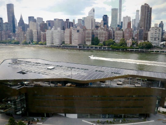 This Wednesday Aug. 16, 2017, photo shows Cornell Tech's
