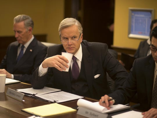 Tim Robbins plays the secretary of State in HBO's 'The
