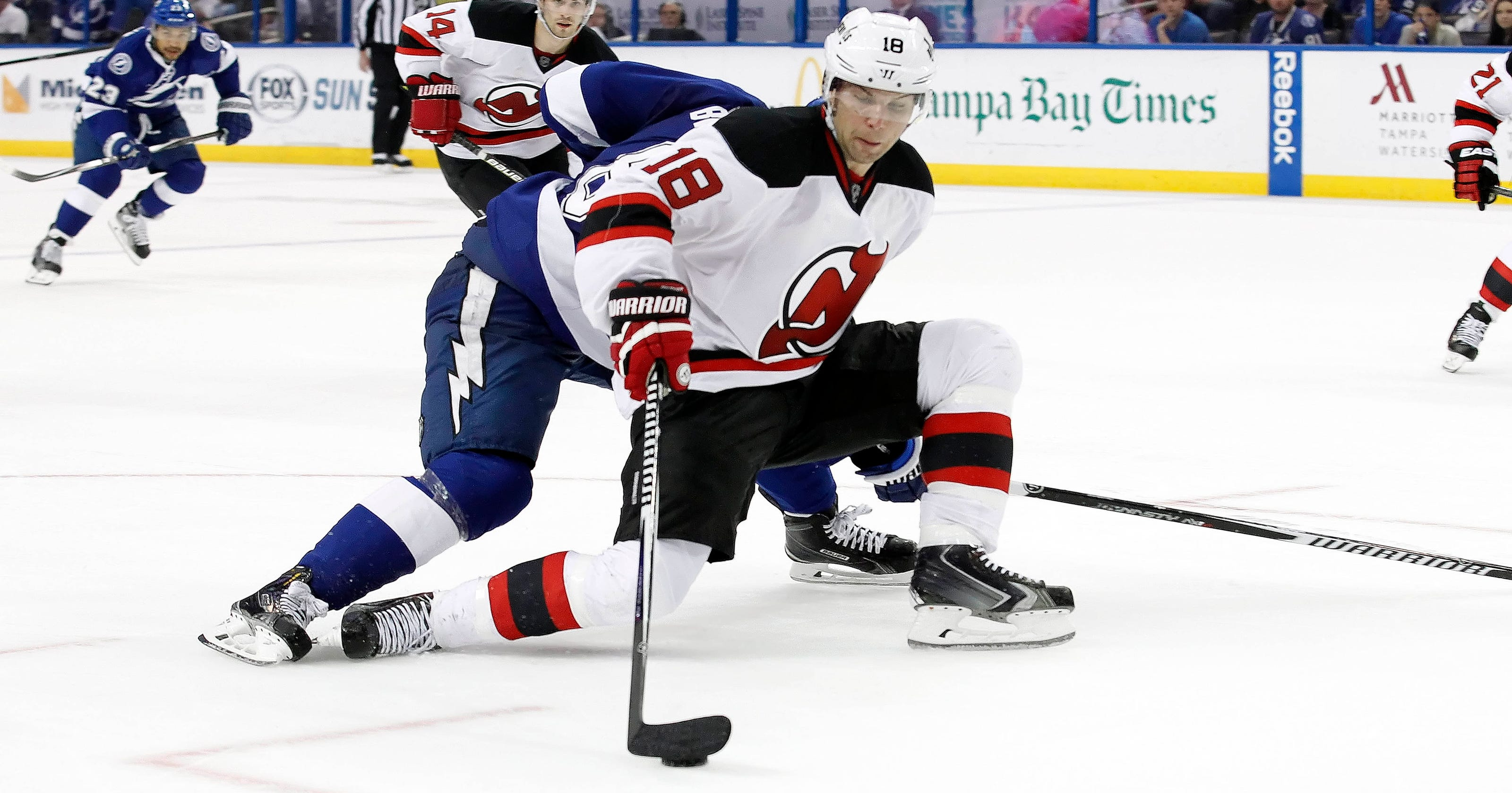 new concept 295e1 21ceb New Jersey Devils lose to Tampa Bay Lightning
