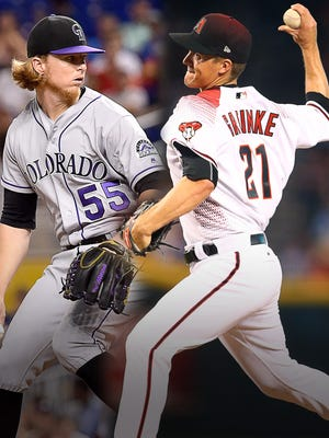 Jon Gray opposes Zack Greinke in the NL wild card game.