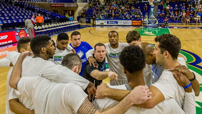 Michael Fly is the only FGCU assistant who worked under Andy Enfield and still is on Joe Dooley's staff.