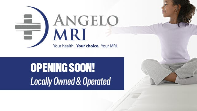 Angelo MRI is opening this month at 4114 S. Jackson St. in San Angelo.