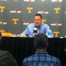 Butch Jones talks about the challenges facing his team ahead of the Georgia game.