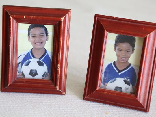 The twins played soccer from the time they were 5, before switching to football in middle school.