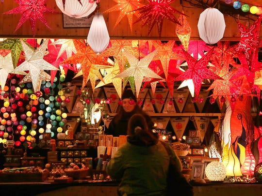 Find authentic German crafts, food and more at the Christkindlmarkt at Germania Park.